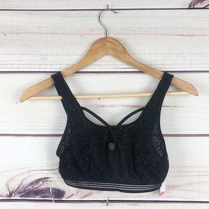 BNWT! Black lace bralette women's small